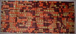 Retro selyem moket faliszőnyeg 01