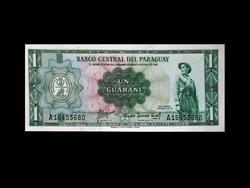 "UNC - 1 GUARANI - PARAGUAY - 1952 ""Old Money'""!"