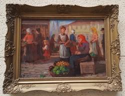 Ott Zoltán (1881-?) Vásár