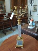 Antik gyertyatartó XIX. századból