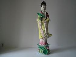 Gésa,lótuszvirággal,35 cm,két jobbkézzel