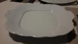 Fehér herendi süteményes tálca