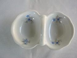 Zsolnay porcelán sótartó asztali fűszertartó