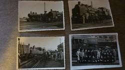 Régi fényképek mozdonyokról
