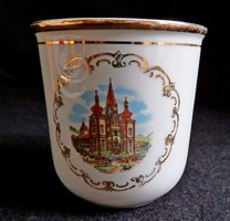 Mariazelli emlékcsésze - régi csehszlovák porcelán kávéscsésze