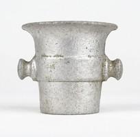 0W775 Régi kisméretű alumínium mozsár