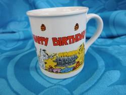 Születésnapra  - kedves koreai ajándékbögre