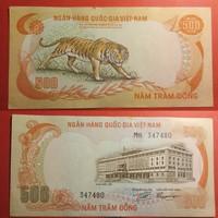 Dél-Vietnám 500 dong 1972 UNC