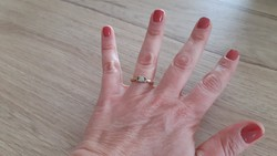 Opál arany gyűrű