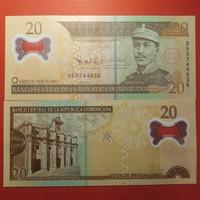 Dominikai Köztársaság 20 pesos 2009 UNC polimer