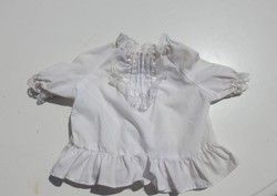 Régi babaruha - fehér ing