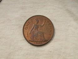 KK346 1949 penny Egyesült Királyság Anglia