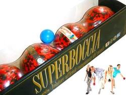 Antik verseny Bocce Balls, bocsa eredeti dobozában / Új Petanque