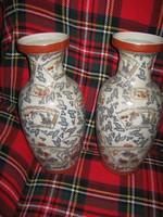 2 db kínai váza párban. 41 cm magasak