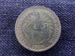 Szép Madonnás ezüst 2 Pengő 1938/id 7063/