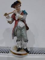 Ritka német antik porcelán figura