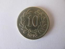 10 fillér 1916. Ausztria