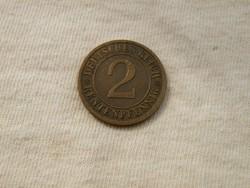 KK361 2db pfennig Németország 1924 1910