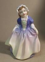 Royal Doulton kislány ,limitált kiadás