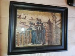 Mednyánszky László. (1852-1919) festmény
