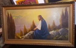 Óriási festmény, 120x60, már keret nélkül!