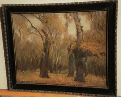 Ismeretlen (20.sz.első fele) : Őszi fák
