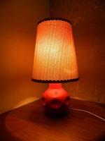 Iparművész retro kerámia asztali lámpa