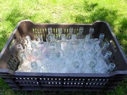 Régi üvegek befőzéshez (paradicsom, szörp, gyümölcslé)