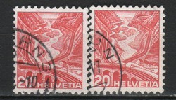Svájc 0032 Michel 301 II y, II z    1,40 Euro