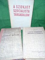 A Szovjet szocializmus alakulása könyvekben