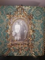 Antik fényképtartó