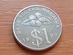 MALAYSIA MALAJZIA 1 RINGGIT 1990 #