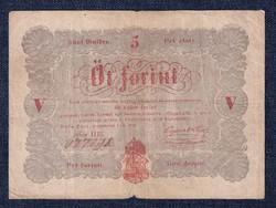 5 Forint 1848, sor HEi/id 8932/