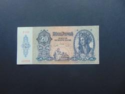 20 pengő 1941 C 228 Szép ropogós bankjegy