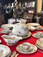 Antik Herendi porcelán étkészlet.