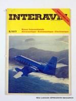1977 szeptember  /  INTERAVIA  /  Régi ÚJSÁGOK KÉPREGÉNYEK MAGAZINOK Szs.:  10998