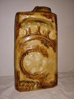 Zsolnay nagyméretű art-deco padló váza