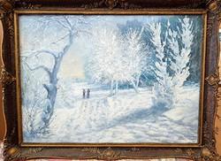 Klimó István: Téli táj