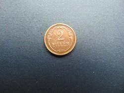 2 fillér 1940