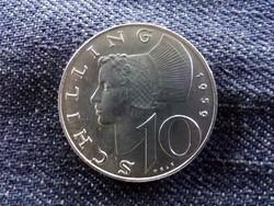 Ausztria - ezüst 10 Schilling 1959/id 9008/