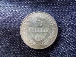 Ausztria - ezüst 5 Schilling 1964/id 8996/