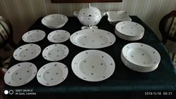 Meisseni porcelán étkészlet