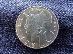 Ausztria - ezüst 10 Schilling 1959/id 9007/