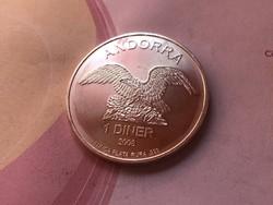 2008 Andorra ezüst 31,1 gramm 0,999 ezüst érme