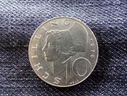 Ausztria - ezüst 10 Schilling 1970/id 9011/