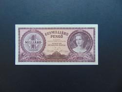 1 milliárd pengő 1946 R 221 Szép ropogós bankjegy
