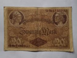 Német 20 márka 1914