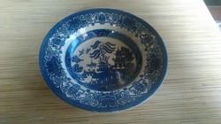 Régi Angol porcelán mély tányér