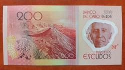Zöld-foki szigetek 200 Escudos 2014 UNC