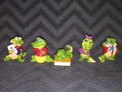 Retro Kinder figurák 5 db